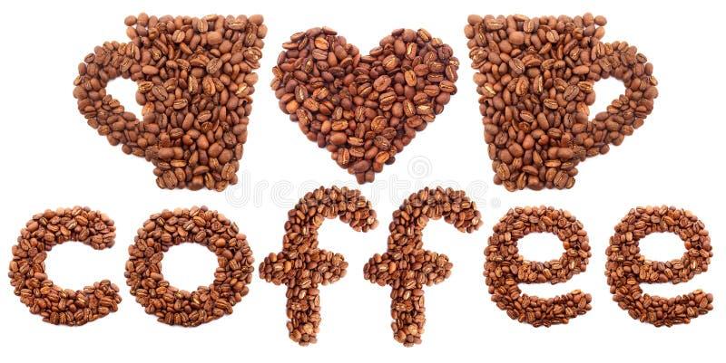 Kawowy pojęcie zdjęcie royalty free