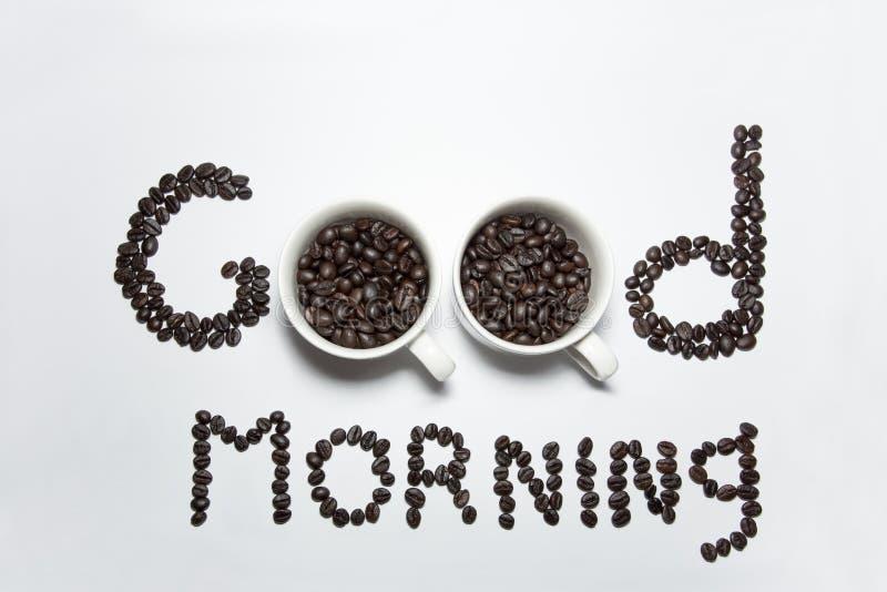 Kawowy ranku czas obrazy stock