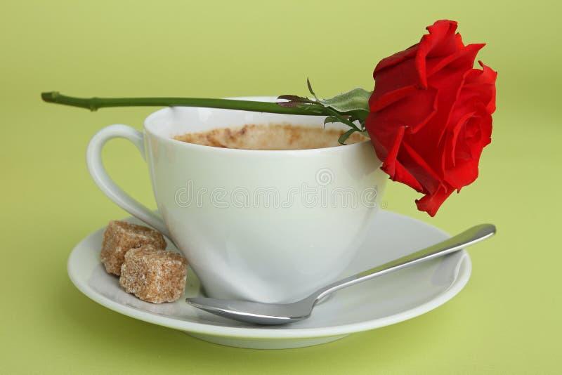 kawowy valentine obrazy stock