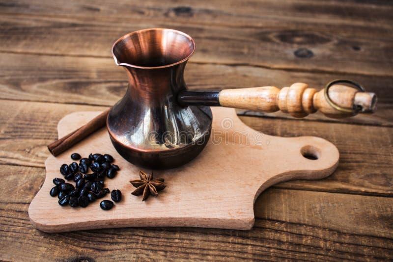 Kawowych fasoli cynamonu onyks zdjęcia stock