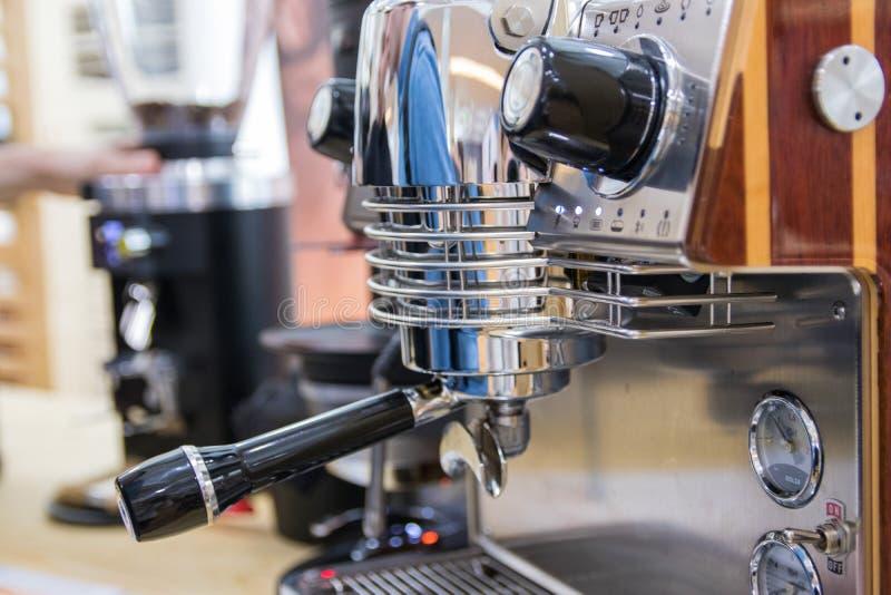 kawy nowożytny maszynowy obraz royalty free