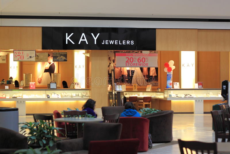 Kay Jewelers stockfoto