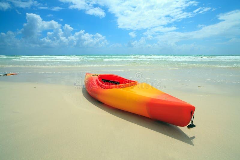 kayak пляжа южный стоковое фото rf