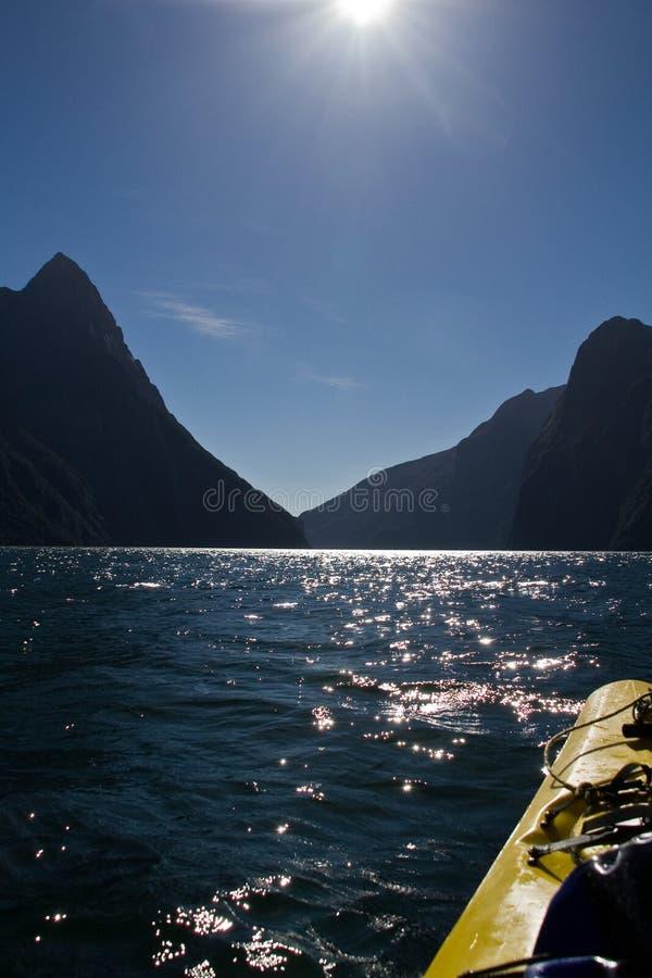 kayak приключения стоковое изображение rf