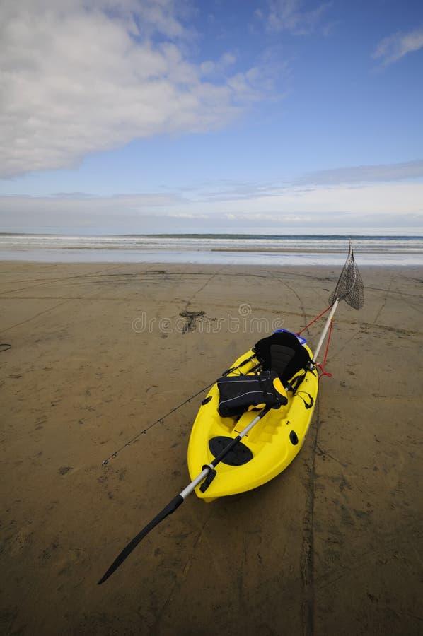 kayak рыболовства стоковая фотография