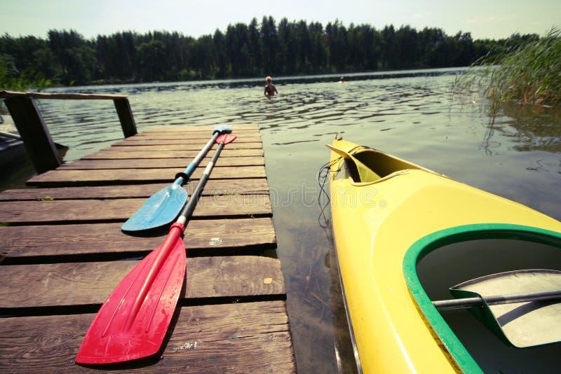Kayak photographie stock
