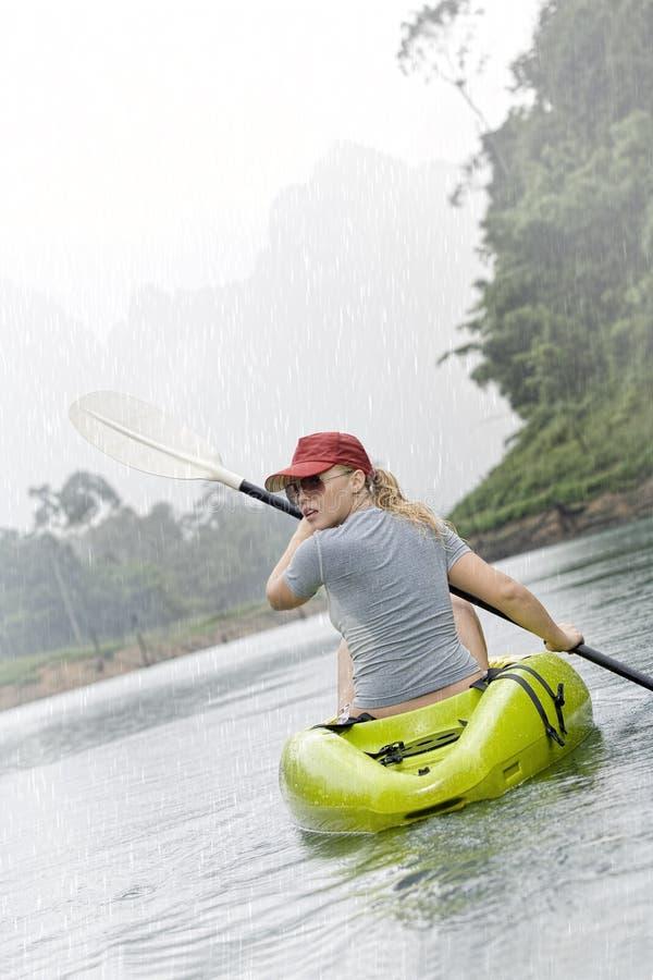 kayak стоковое изображение