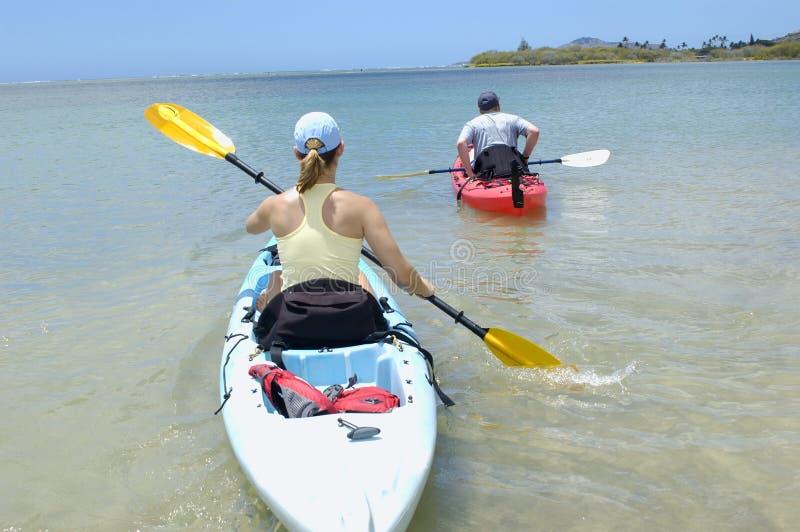 Kayak 2 royalty free stock photos