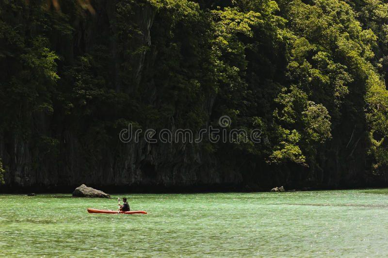 Kayak image stock
