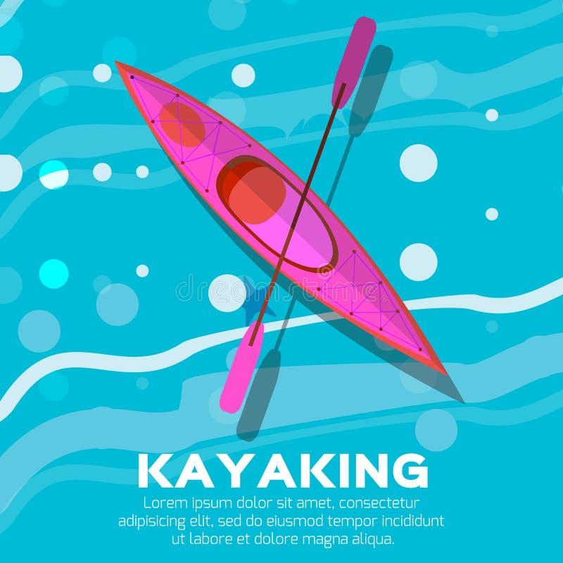 kayak royalty illustrazione gratis