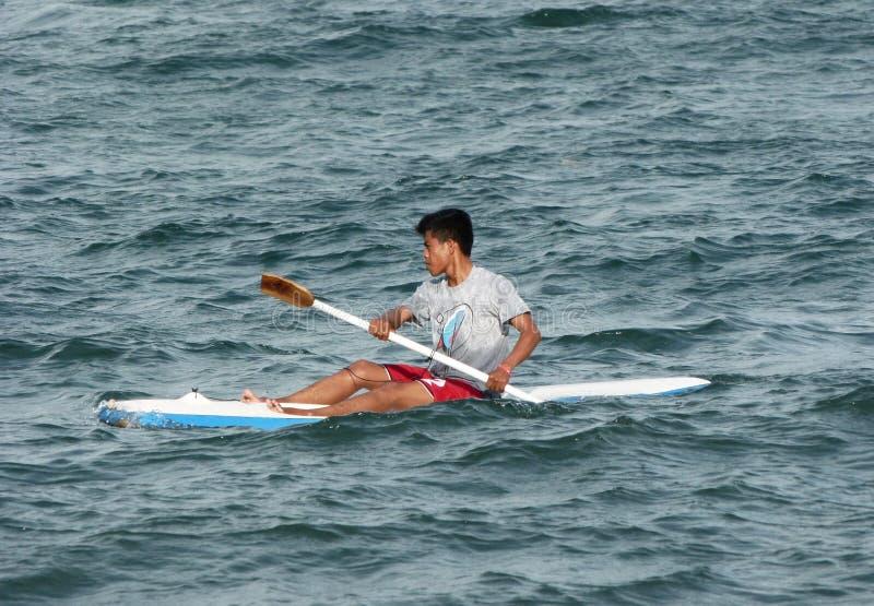 kayak imagem de stock