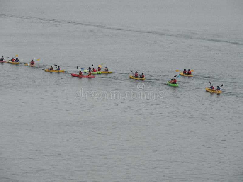 kayak fotografia de stock