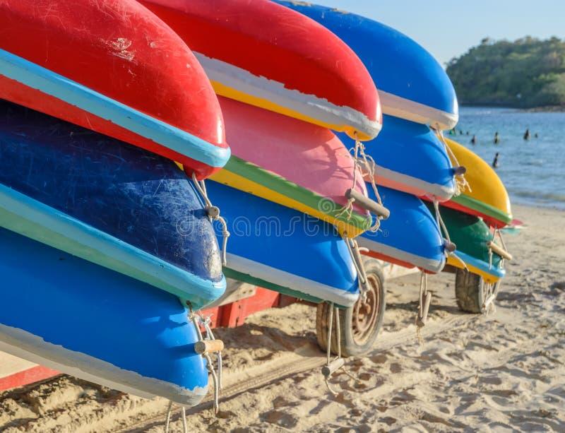 Kayak coloré photo libre de droits