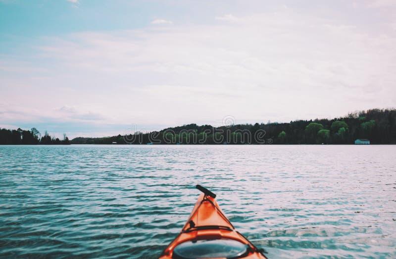 Kayak On Lake Free Public Domain Cc0 Image