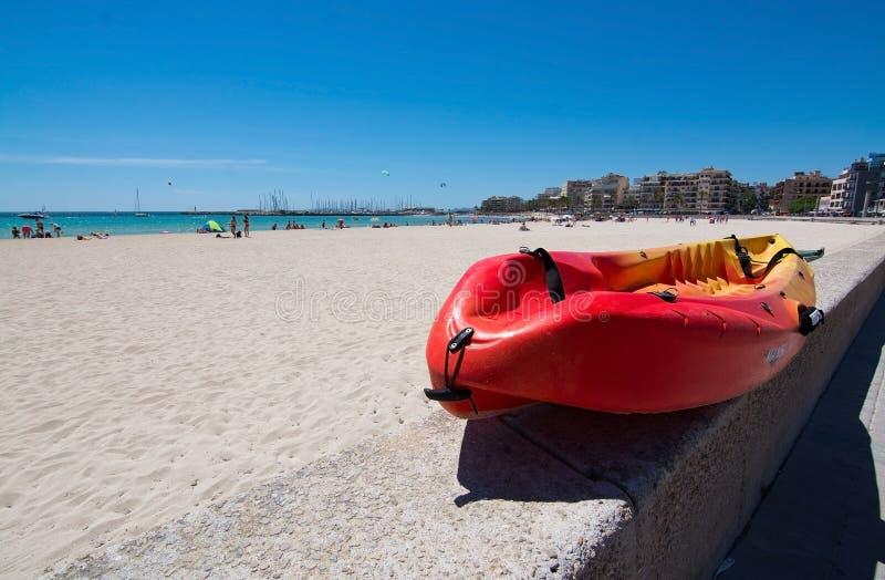 Kayak Playa De Palma image libre de droits