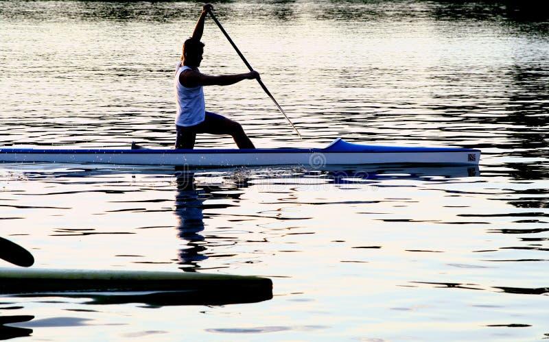 Kayak series royalty free stock images