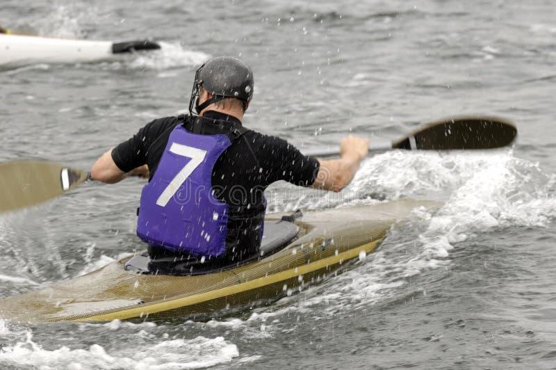 Kayak sport royalty free stock images
