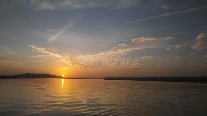 Kayak trip stock image