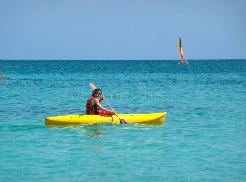 Kayaker Stock Images