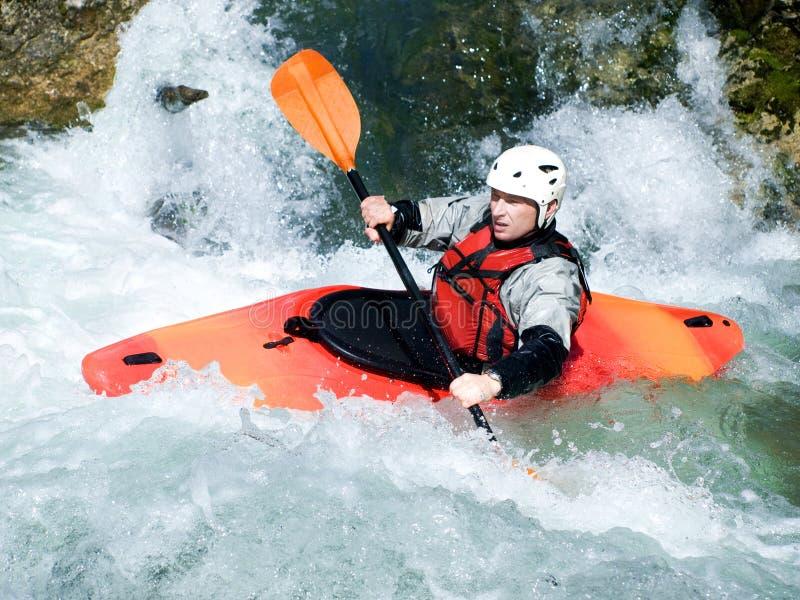 kayaker стоковые фотографии rf