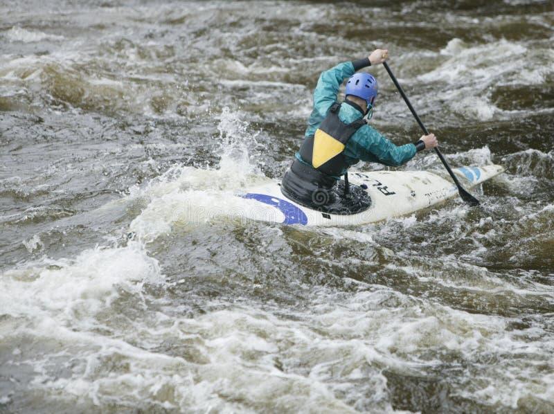 Kayaker 3 immagine stock