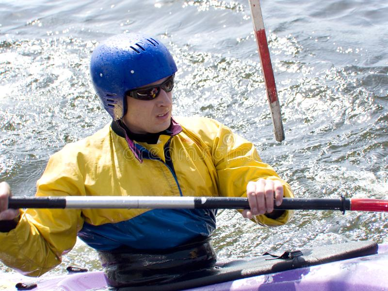 Download Kayaker stock photo. Image of fear, speed, excitement - 5071950