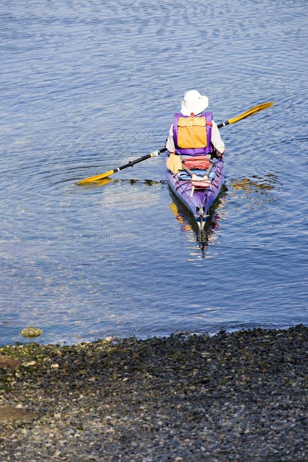 Kayaker kayaking stock photos