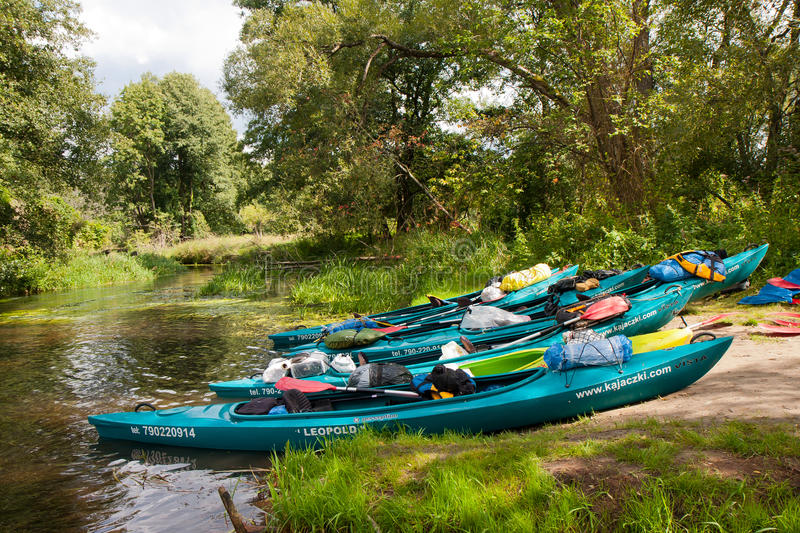Kayakers images stock