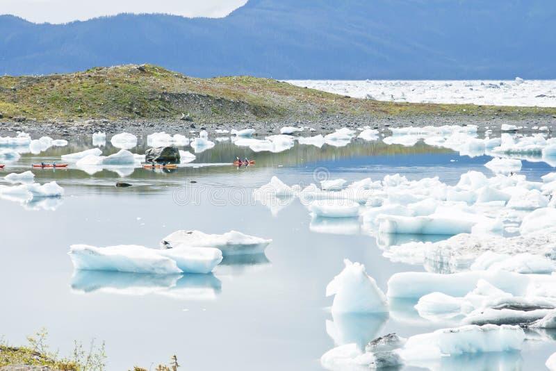 kayaking θάλασσα στοκ φωτογραφίες