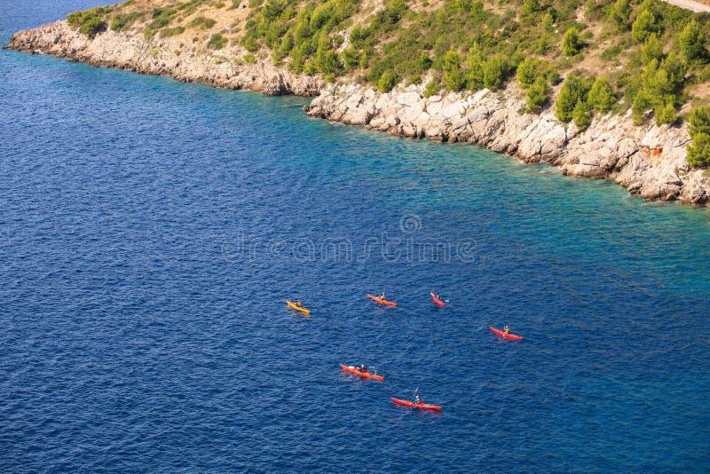 Kayaking zdjęcia royalty free