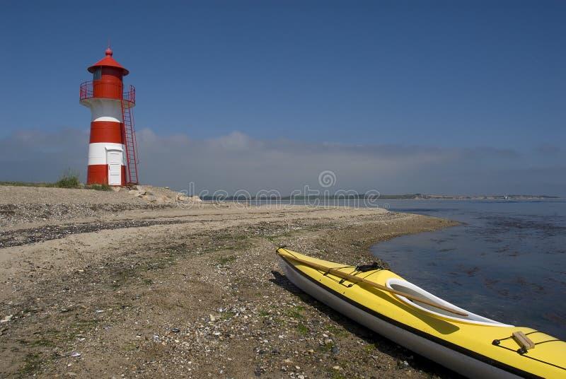 Kayaking images libres de droits