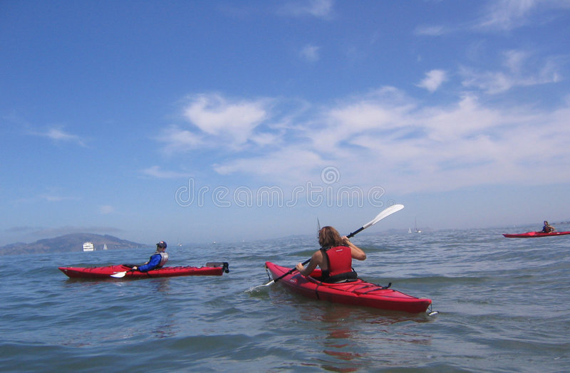 Download Kayaking stock image. Image of sports, exercise, boats, water - 64141
