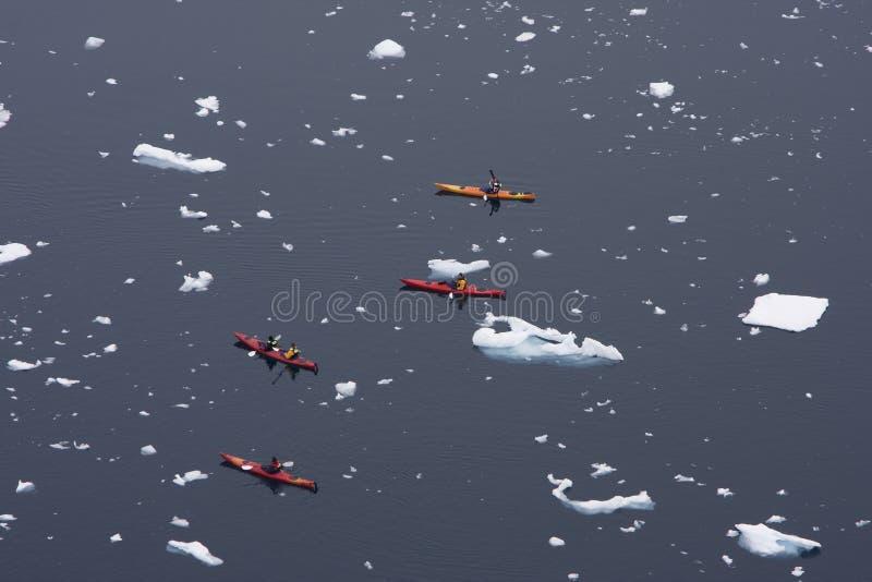 Download Kayaking in Antarctica stock photo. Image of snow, antractica - 9741398