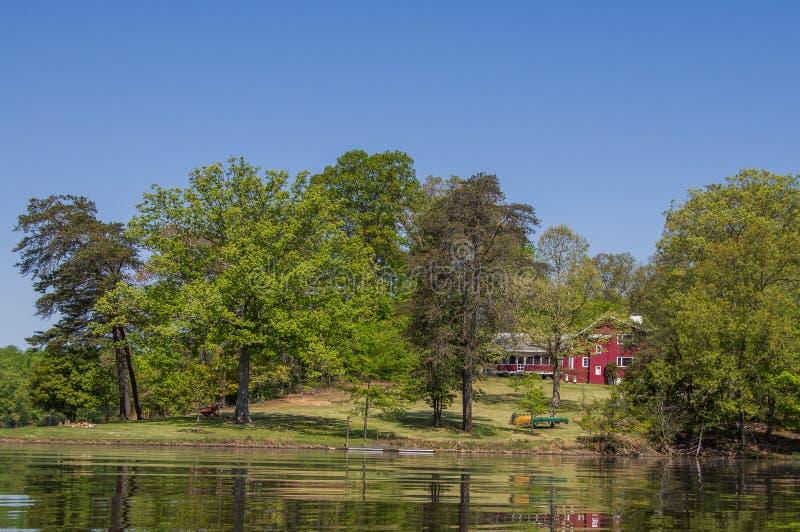 Kayaking at Fountainhead royalty free stock photo