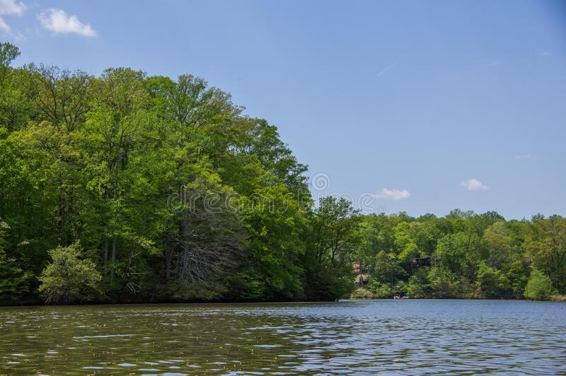 Kayaking at Fountainhead royalty free stock photography