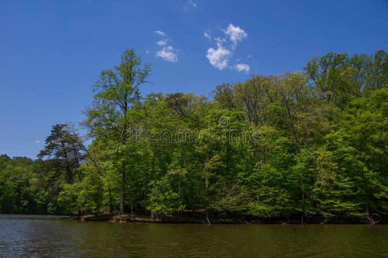 Kayaking at Fountainhead stock photo