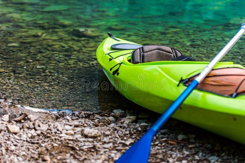 Kayaking on the Lake stock photos