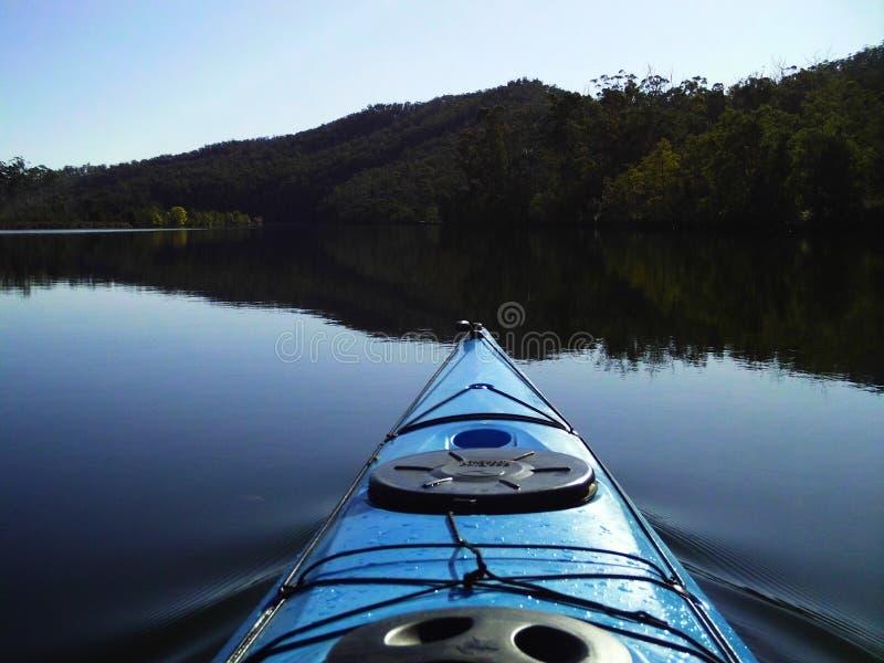 Kayaking the Scammander river stock photos