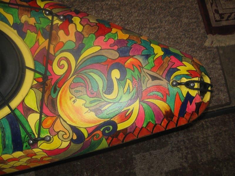 Kayaks†‹颜色 库存图片