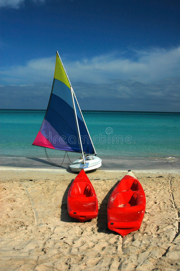 Download Kayaks парусник стоковое фото. изображение насчитывающей baxter - 88362