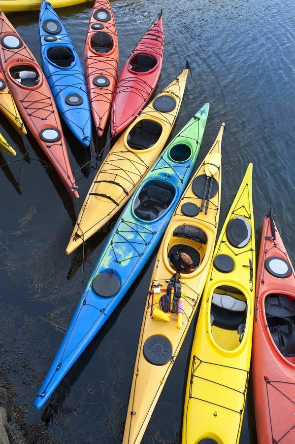Kayaks photo libre de droits