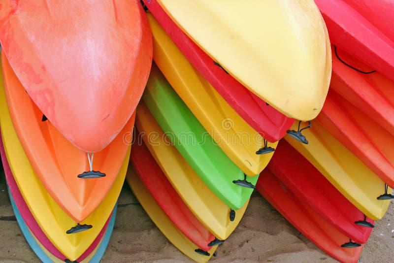 kayaks стоковое фото rf
