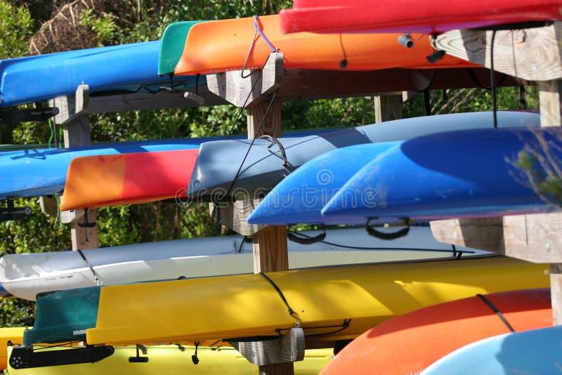 Kayaks Stock Image