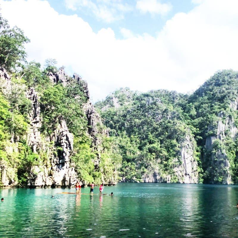 Kayangan See stockfotos