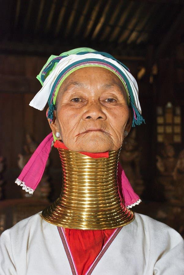 kayar женщина провинций padaung стоковое фото rf