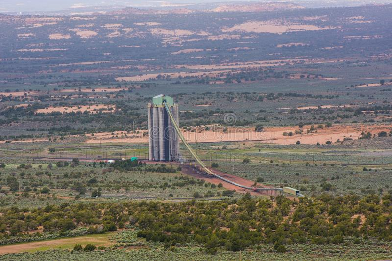 Kayenta Mine in Northern Arizona. stock photos