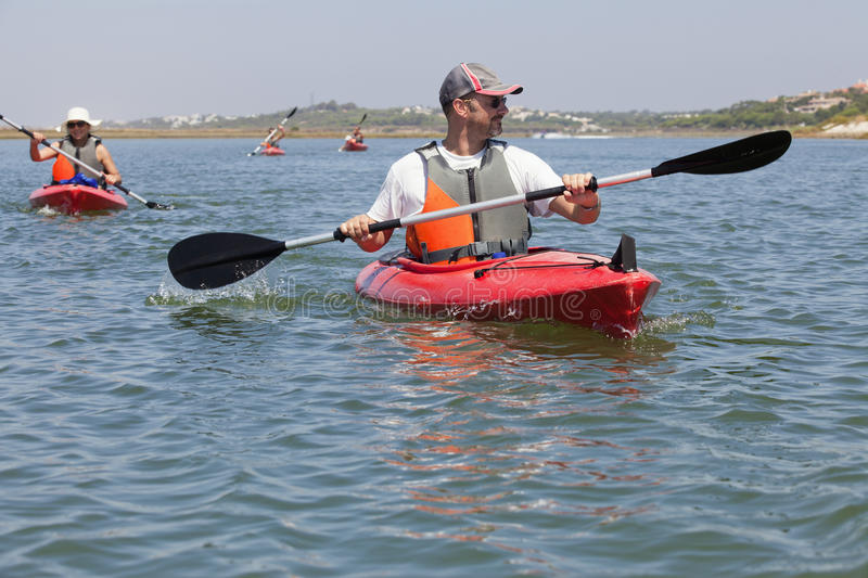 Download Kaykaking stock image. Image of kayak, canoe, entertainment - 20971853
