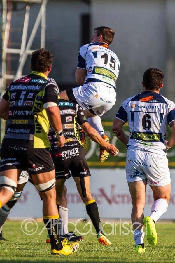 Kayle Van Zyl - Campionato Italiano Di Eccellenza Di Rugby, Gara 1 Semifinale Playoff Scudetto 2014/15, Stadio Quaggia Di Mogliano Free Public Domain Cc0 Image