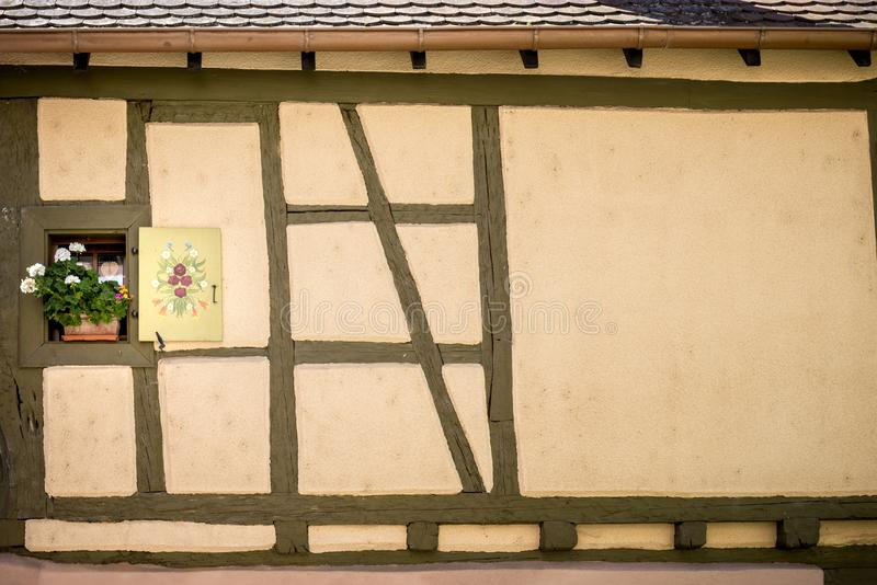 KAYSEREBERG: Uno de los pueblos más hermosos de Francia, Alsacia fotos de archivo