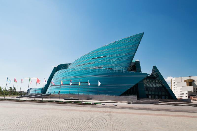 Kazachstan Środkowa filharmonia w Astana obrazy stock